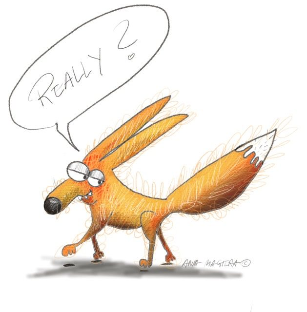 FUNNY FOX Illustration