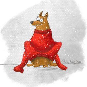 FUNNY FOX Illustration